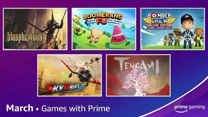 march prime gaming