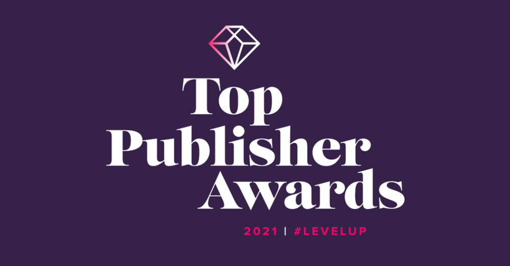 top publisher award