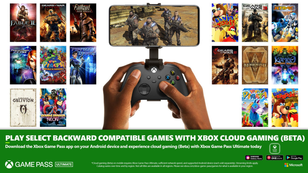 Back Compat Xbox Games Coming to Xbox Cloud Gaming