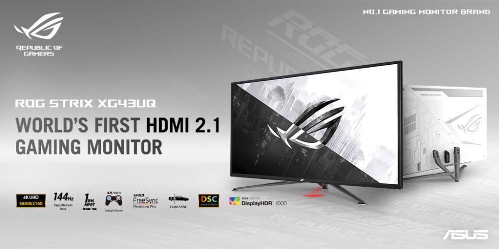 Strix XG43UQ Monitor