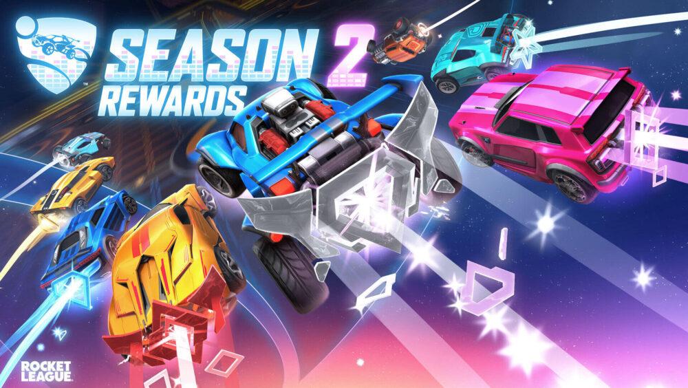 rocket league season 2 rewards