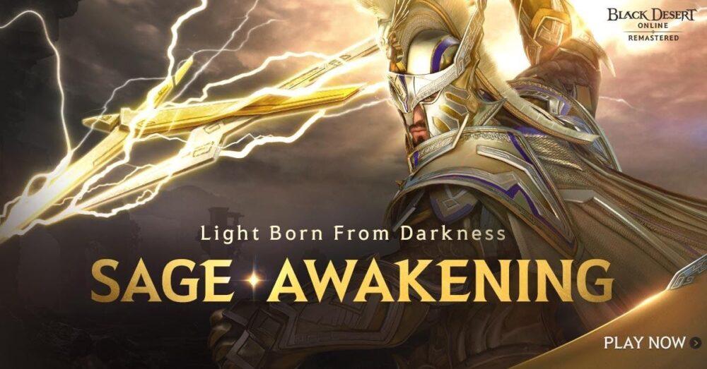 Black Desert Online class Sage receives awakening skill update