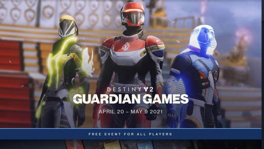 GUARDIAN GAMES RETURNS TO DESTINY 2