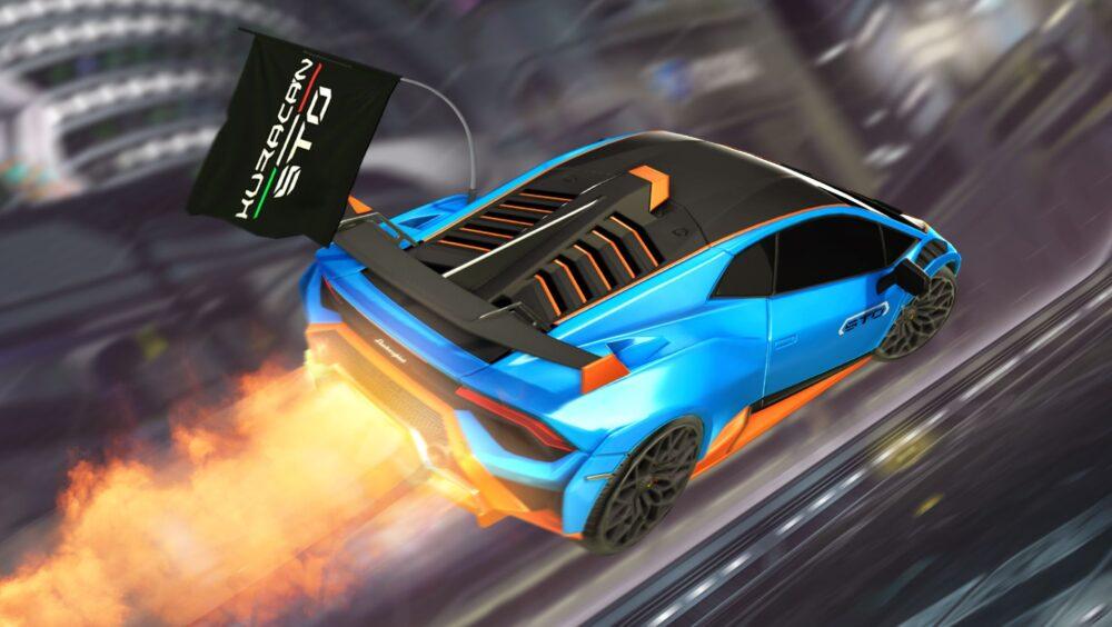 Lamborghini Huracán STO Heads to Rocket League