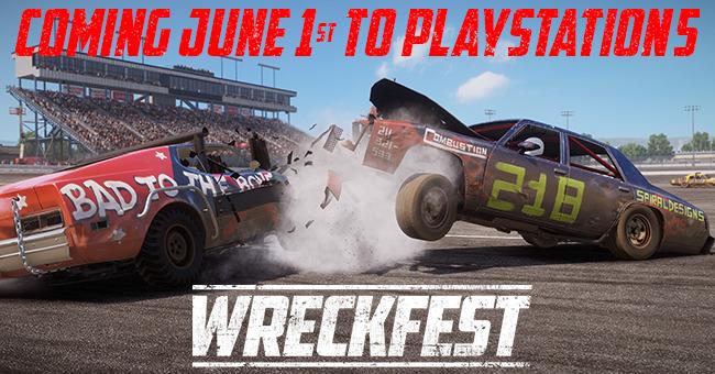 New Wreckfest PlayStation 5 Trailer