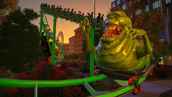 Planet Coaster Ghostbusters & Studios Pack