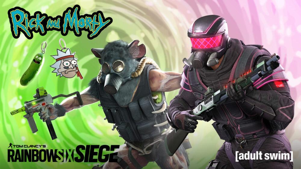 Rainbow Six Siege Rick and MortyCosmetic Bundles