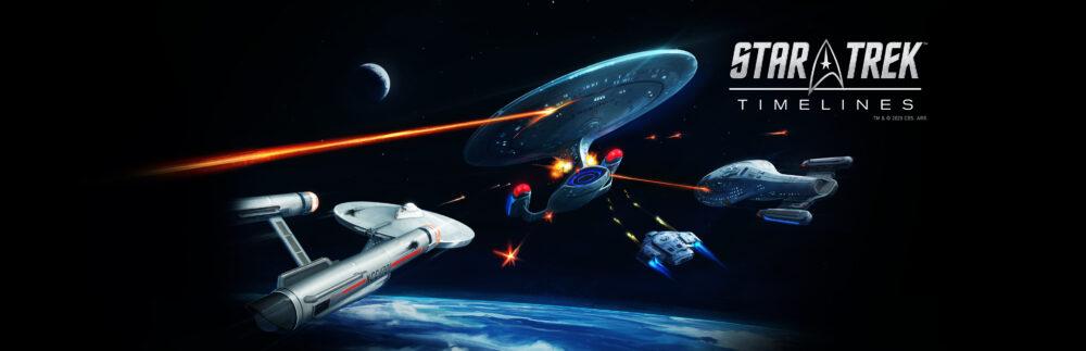 Star Trek Timelines Splash Screen Wide Logo