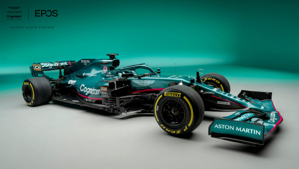 Aston Martin Cognizant Formula One Team partners with EPOS