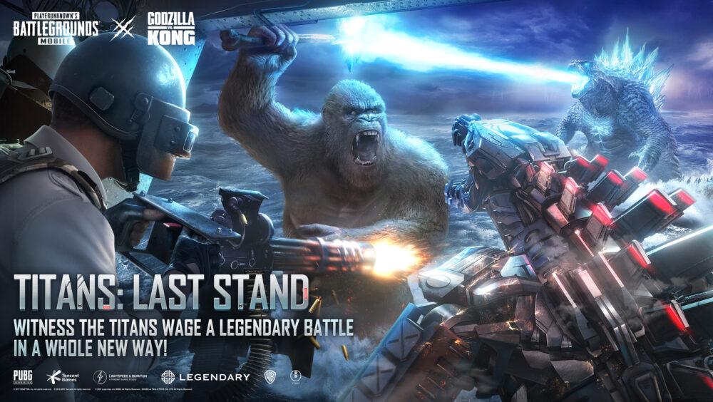 PUBG MOBILE, Titans Last Stand