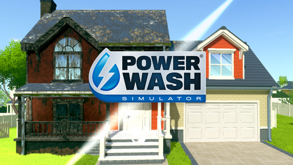 POWERWASH SIMULATOR to be Published by Square Enix