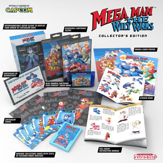 Mega Man The Wily Wars Collector's Edition Coming To Europe