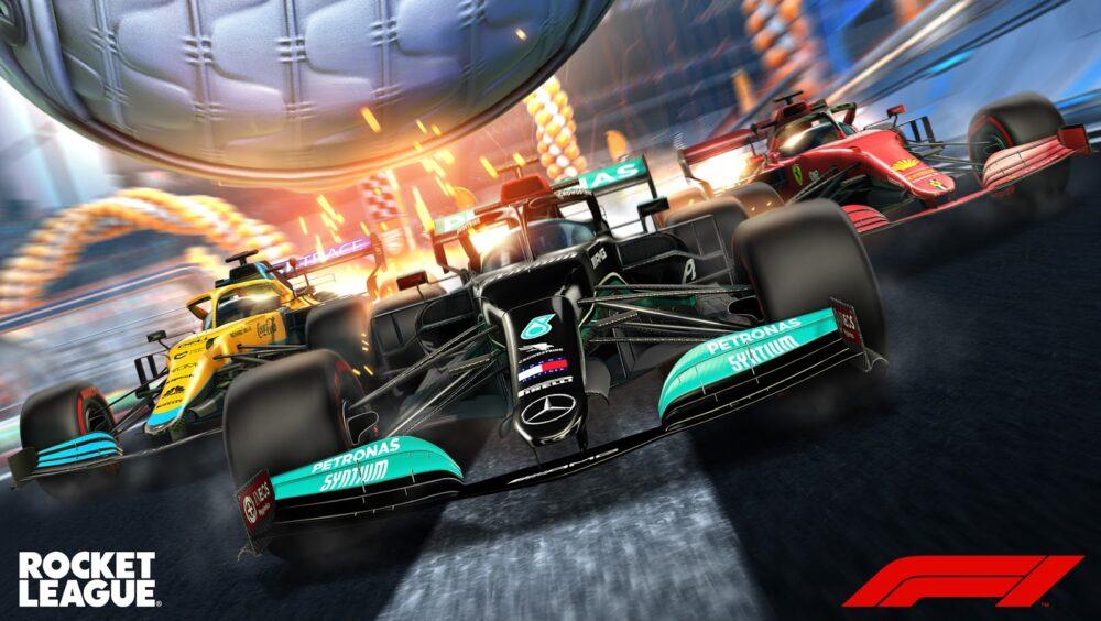 Rocket League Formula 1 Pack