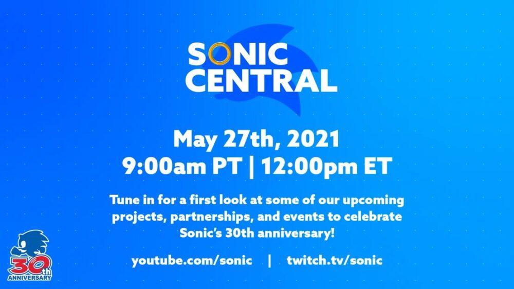 SEGA Announces Sonic Central