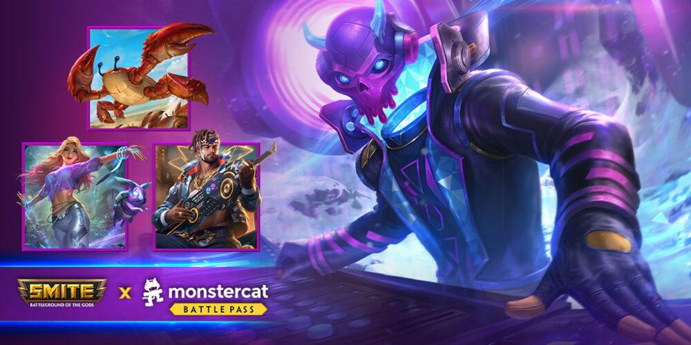 SMITE New Monstercat Battle Pass