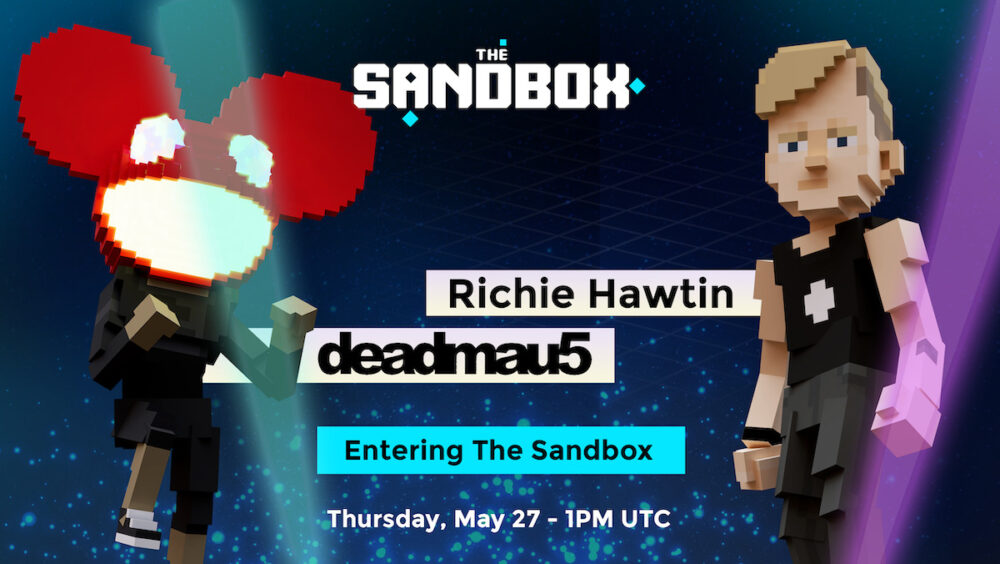 The Sandbox to feature Richie Hawtin and deadmau5