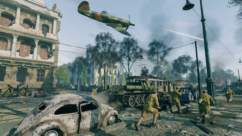 Battle of Berlin is now available for free in Enlisted