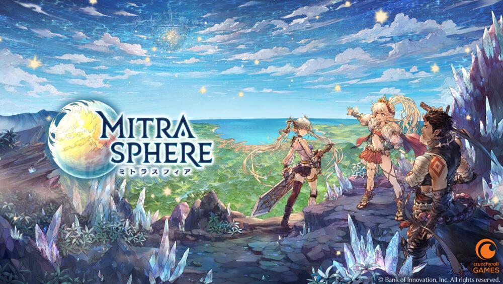 Crunchyroll Games Announces Mitrasphere Launch