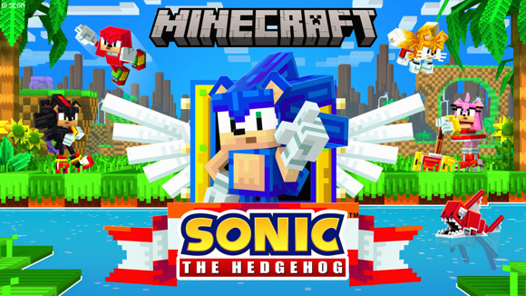Minecraft Marketplace Sonic the Hedgehog DLC Now Available