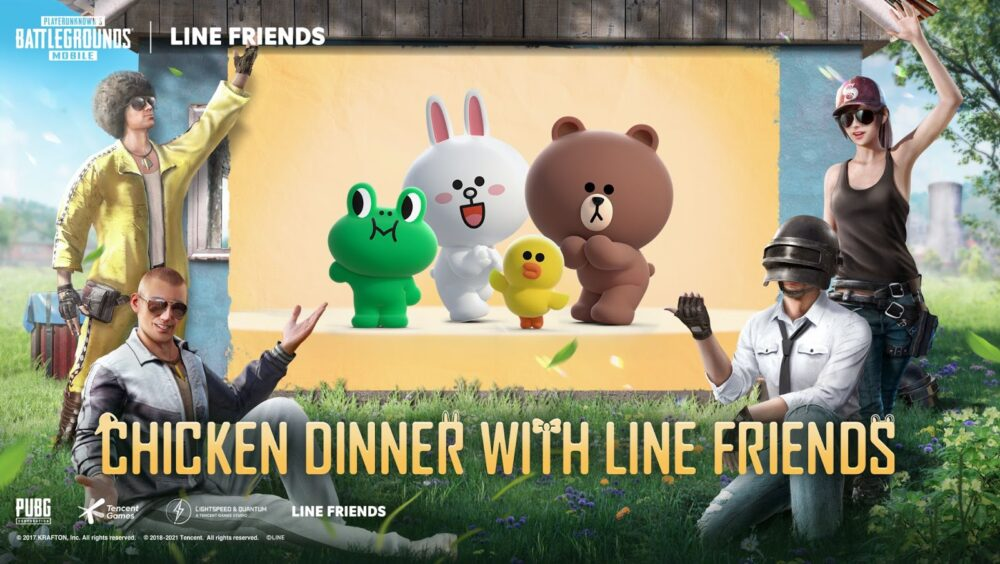 PUBG MOBILE partners with LINE FRIENDS