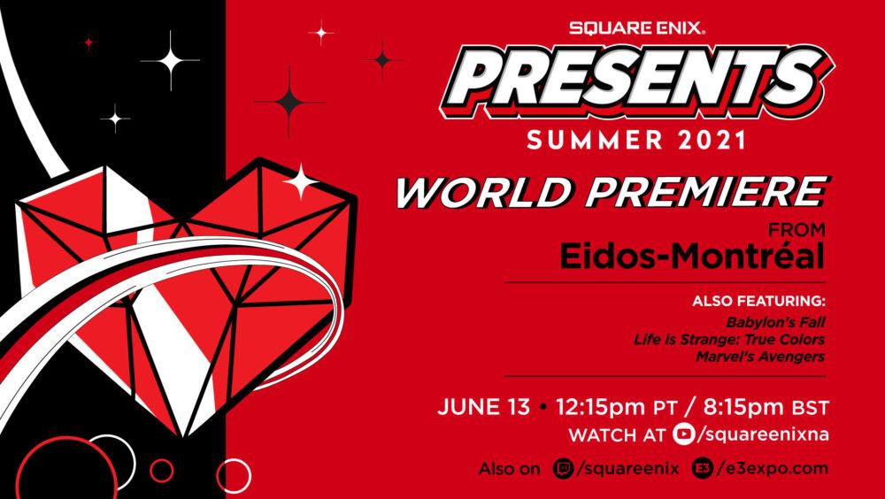 Square Enix Presents,E3 2021