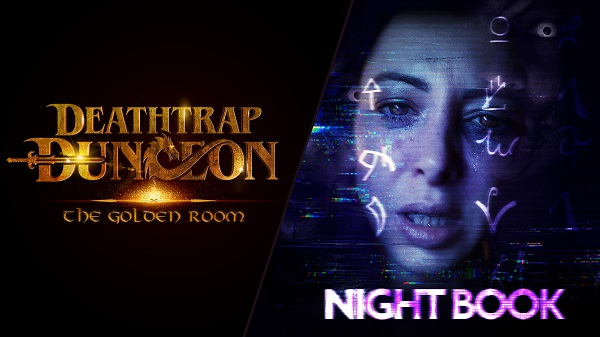 Night Book and Deathtrap Dungeon The Golden Room Get Free Demos