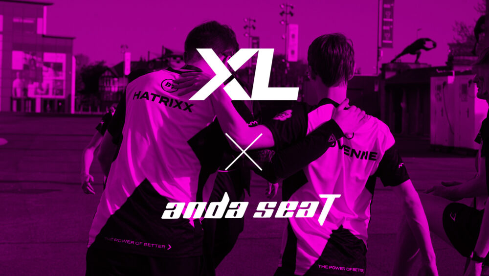 EXCEL ESPORTS Partner with AndaSeat