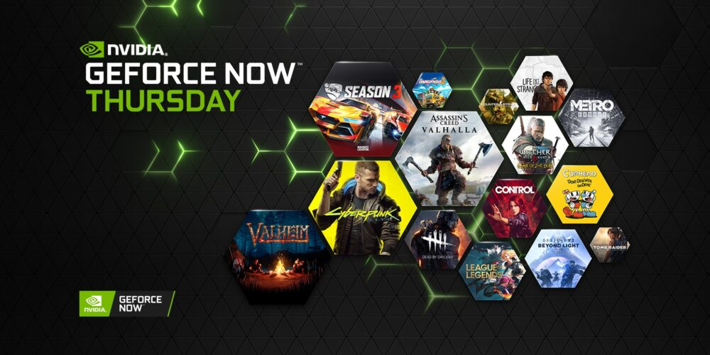 GeForce NOW has 1000 PC Games including 13 New Games Today
