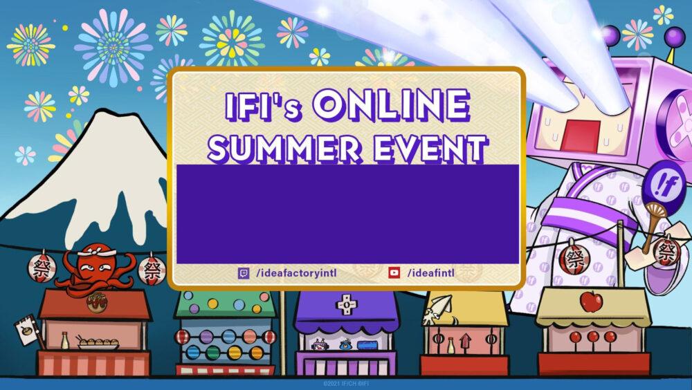 Idea Factory Online Summer Festival