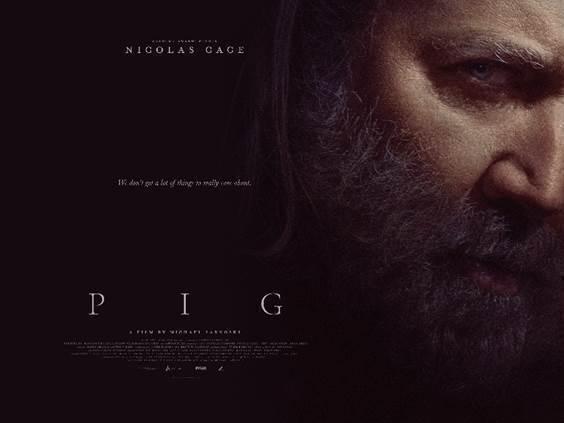NICOLAS CAGE'S PIG