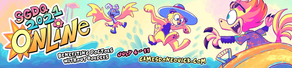 Summer Games Done Quick 2021 Online begins this weekend