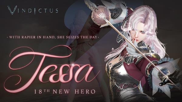 Vindictus Newest Hero Tessa is Now Live