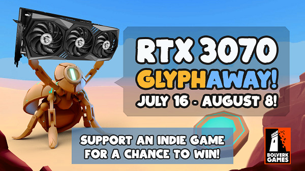 Win a GeForce RTX3070