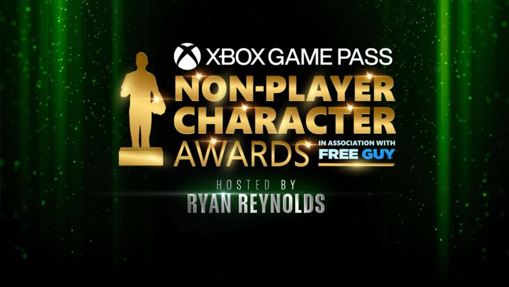 Xbox and Ryan Reynolds Announce First-Ever Non-Player Character Awards