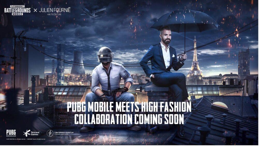 PUBG MOBILE partners with ultra-exclusive Haute Couture Fashion House Julien Fournié