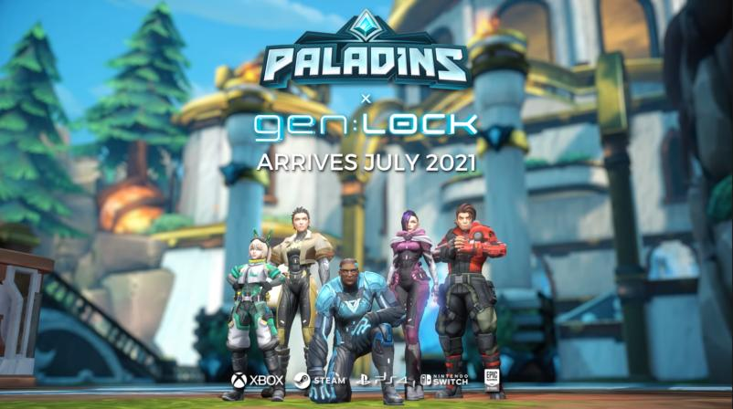 gen LOCK Crossover Now Live in Paladins