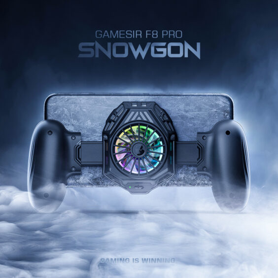 F8 Snowgon mobile cooling grip