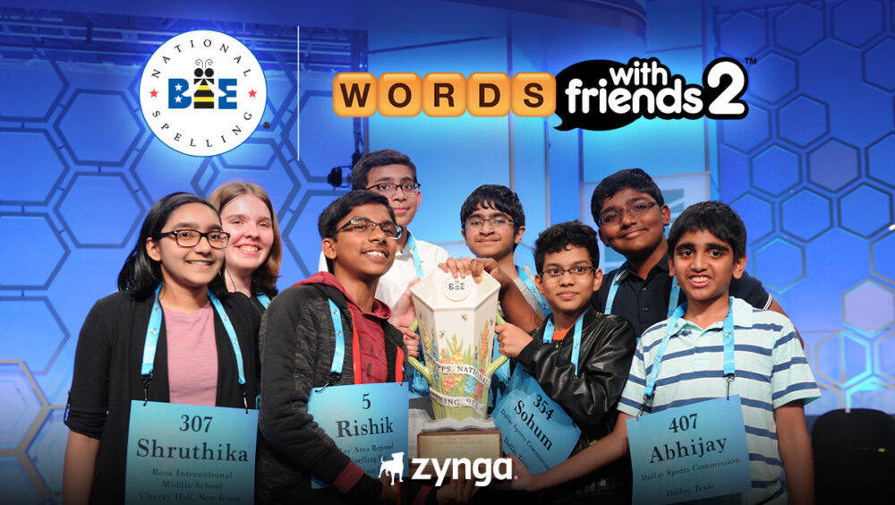 Scripps National Spelling Bee Returns in Words With Friends
