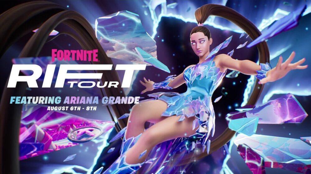 Ariana Grande Headlines Fortnite Rift Tour