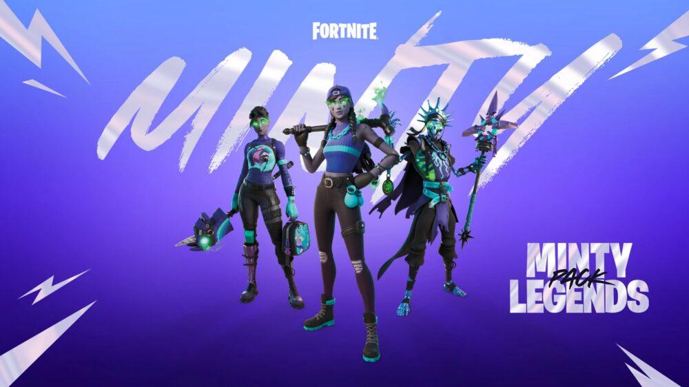 Fortnite's Minty Legends Pack this November