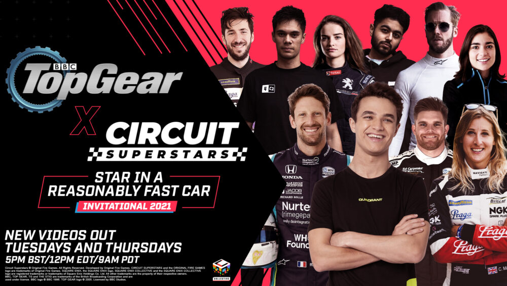 CIRCUIT SUPERSTARS Partners with BBC Top Gear