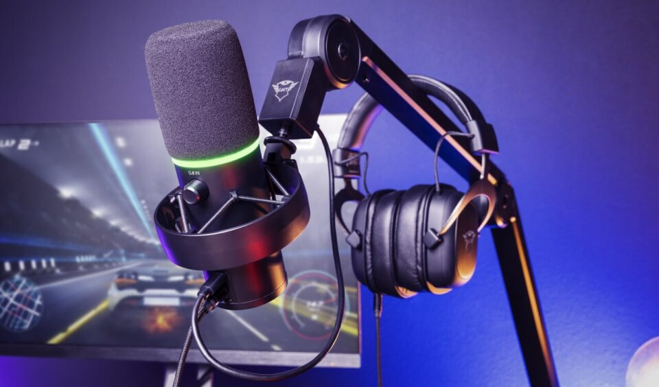 Trust Gaming launches the GXT 255+ ONYX professional microphone