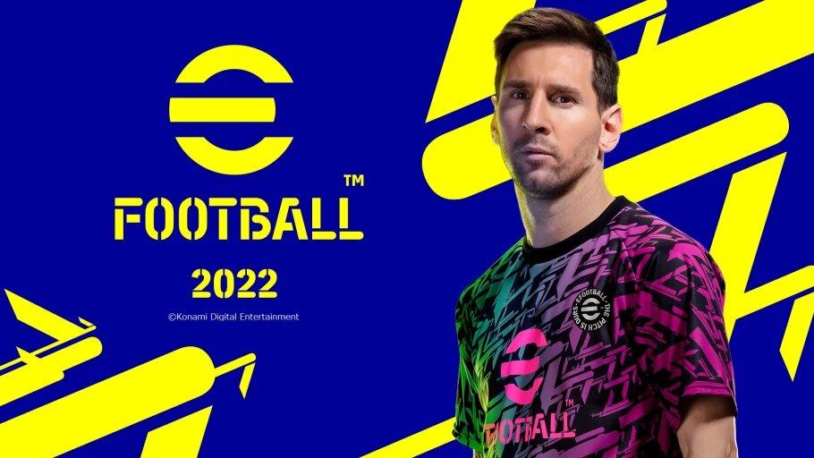 KONAMI ANNOUNCES eFootball 2022