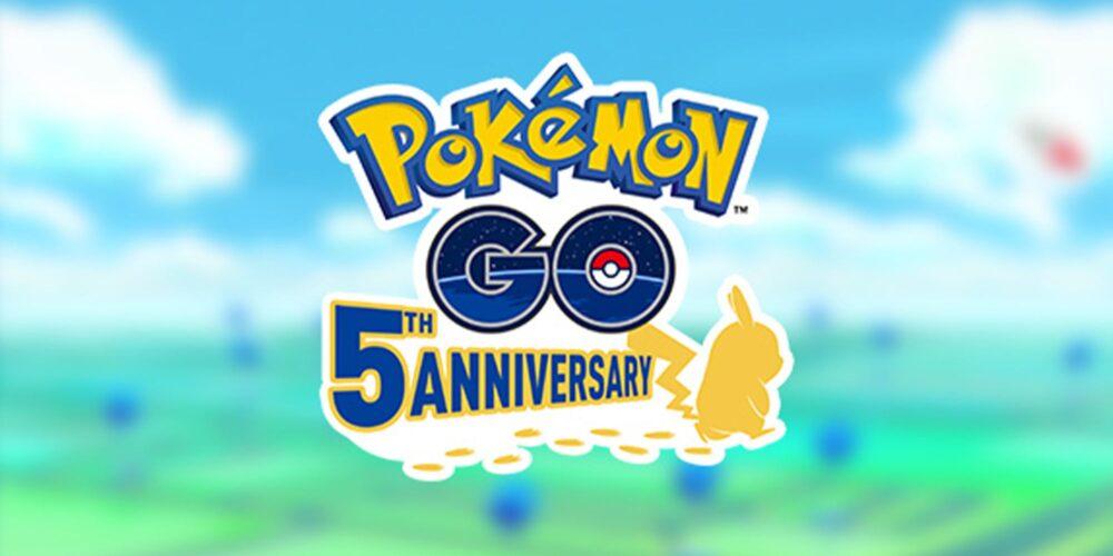 Pokémon GO 5th anniversary