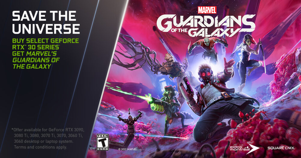 Marvels Guardians of the Galaxy & Alan Wake Remastered launches with NVIDIA DLSS